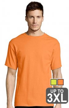 Hanes Short Sleeve Safety Shirt