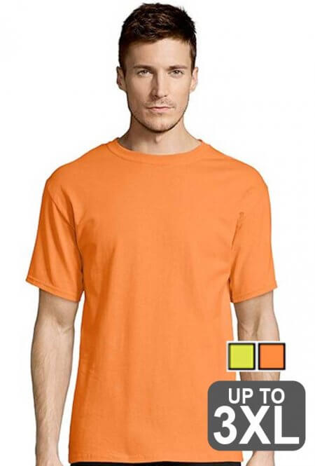 Hanes Tagless Safety Shirt