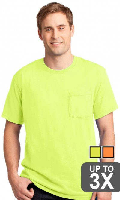 Jerzees Pocket Safety T-Shirt