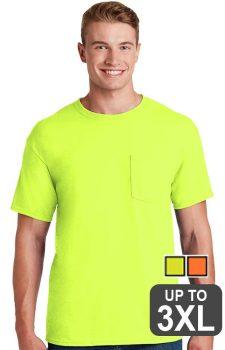 Jerzees 50/50 POCKET Safety Shirt