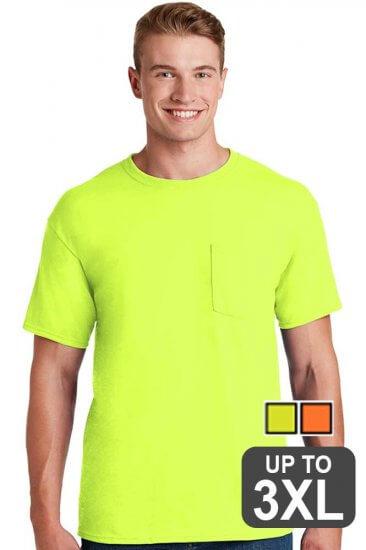 Jerzees Pocket Safety T-Shirt