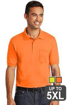 Jerzees Pocket Safety Polo