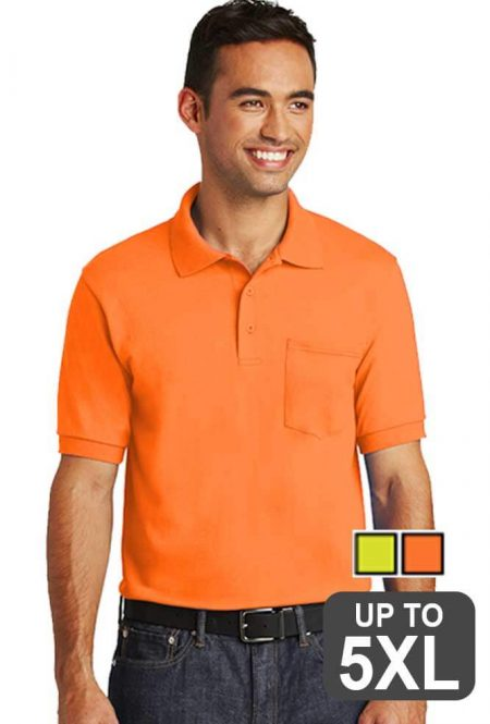 Jerzees Safety Pocket Polo