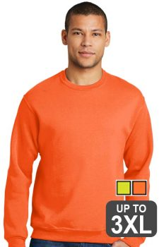Jerzees Safety Crewneck Sweatshirt