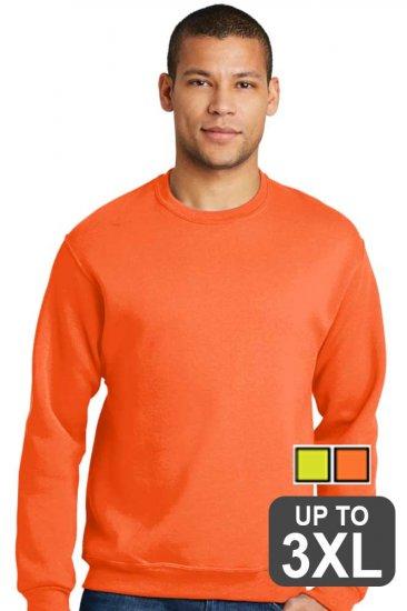 Jerzees Safety Crewneck Sweatshirt