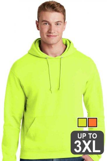 Jerzees Super Sweats Safety Hooded Sweatshirt