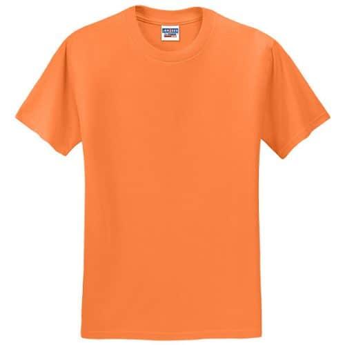 Jerzees Safety Orange Dry Fit Shirt