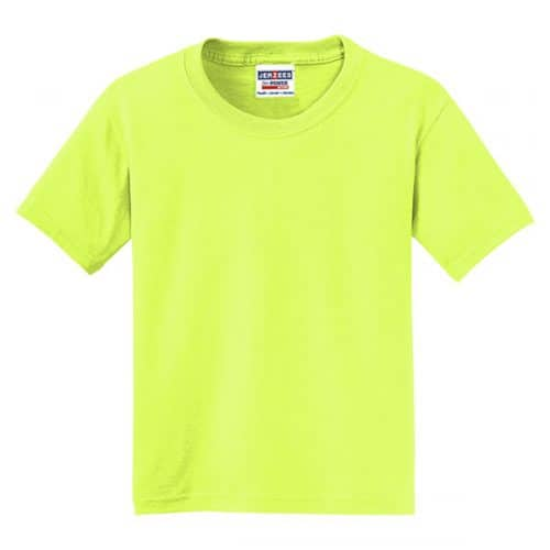 Youth Safety Green Shirt