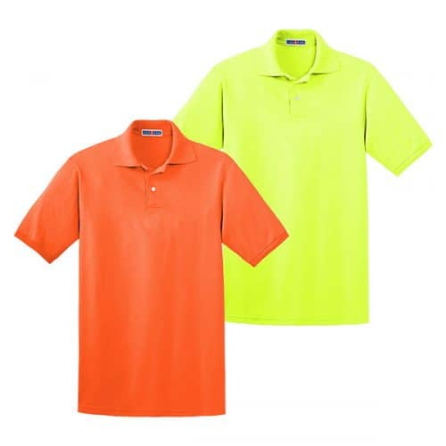 Safety Polo Shirts with Collar