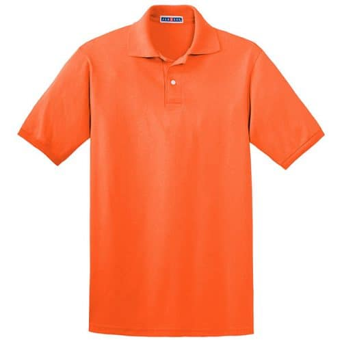 Safety Orange Polo
