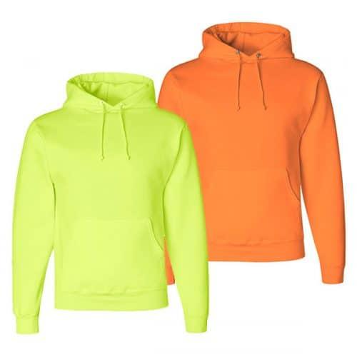 Jerzees Safety Hooded Sweatshirts