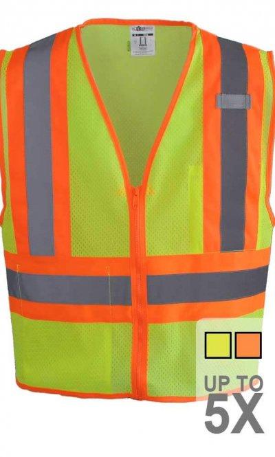 ML Kishigo Contrasting Safety Vest
