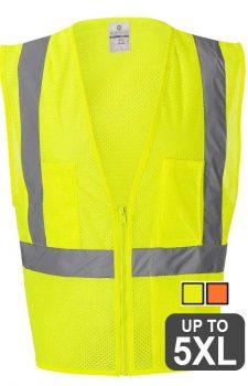 ML Kishigo – Class 2 Ultra-Cool Mesh Vest With Pockets
