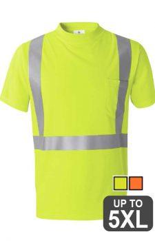 ML Kishigo High Performance Class 2 Micro-Fiber T-Shirt