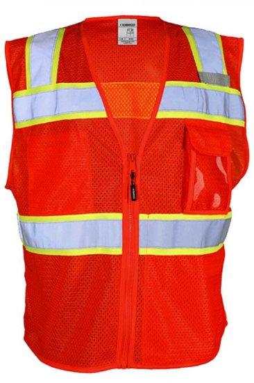 Red Safety Vests