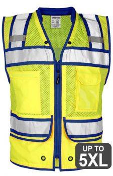 Kishigo Class 2 Contrast High Performance Surveyors Vest
