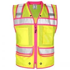 Kishigo Class 2 Pink Contrast Surveyors Vest