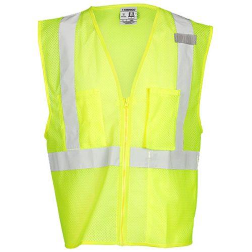 Kishigo Safety Green Safety Vest