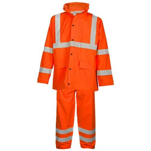 Kishigo Safety Orange Rain Suit