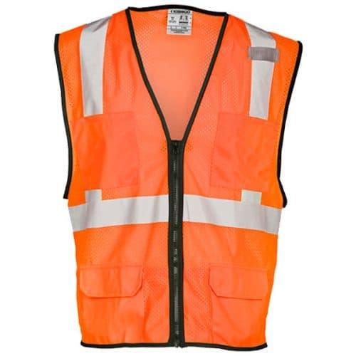 Kishigo Safety Orange Safety Vest