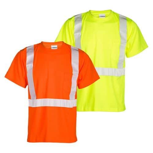 Kishigo Class 2 Safety Shirts