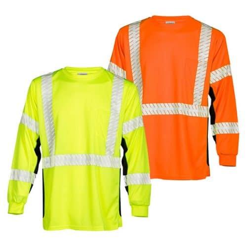 Kishigo Premium Long Sleeve Class 3 Shirts
