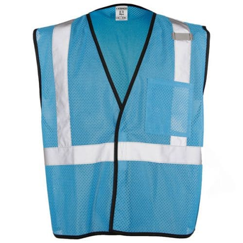 Electric Blue Non-ANSI vest