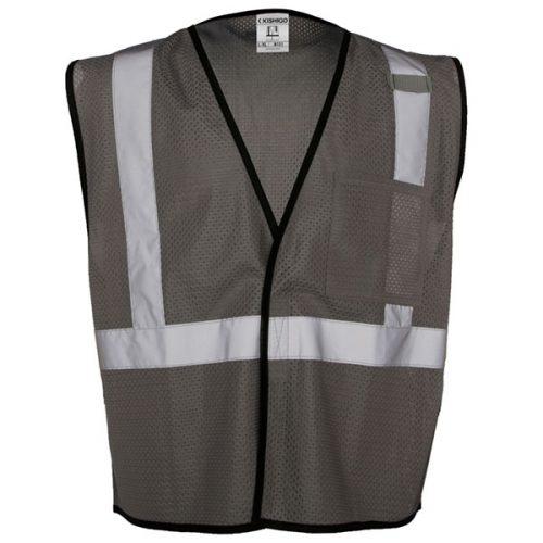 Grey Non-ANSI Safety Vest