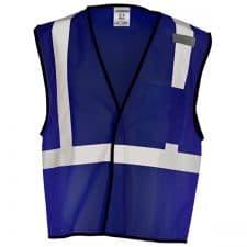 ML Kishigo Navy Blue Non-ANSI Vest