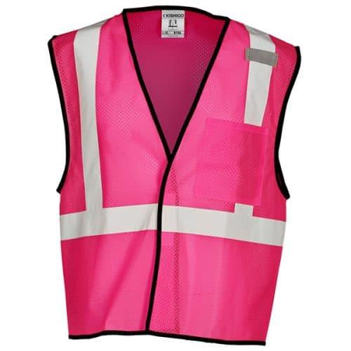 Pink Non-ANSI Safety Vest
