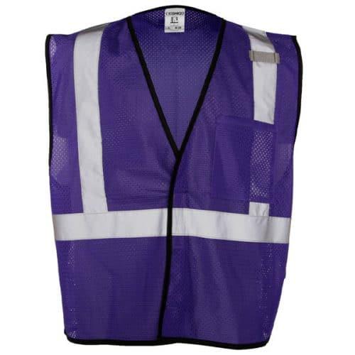 Purple Non-ANSI Safety Vest