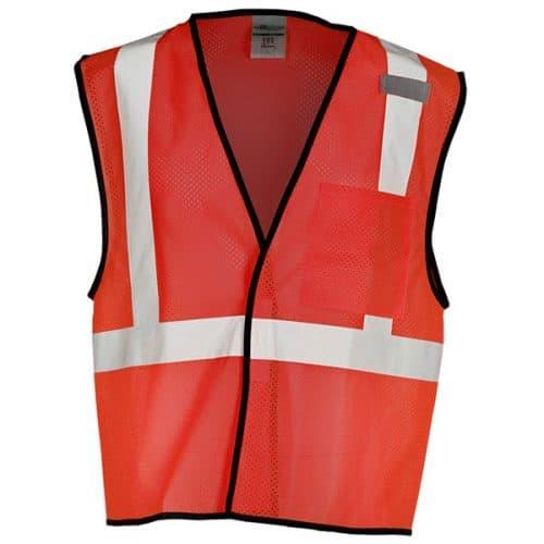 Red Non-ANSI Safety Vest