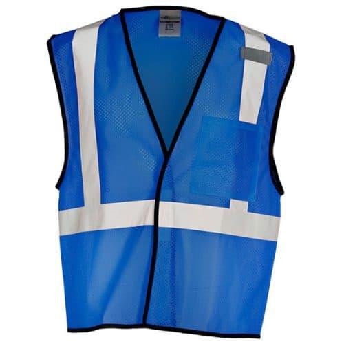Royal Blue Non-ANSI Safety Vest