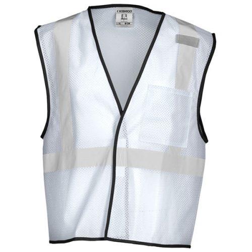White Non-ANSI Safety Vest