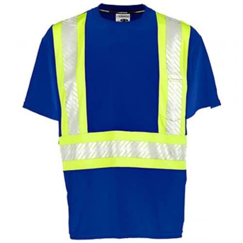 Kishigo Blue Non-ANSI Reflective Safety Shirt