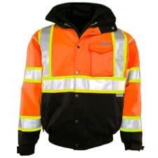 Kishigo Safety Orange Bomber Jacket