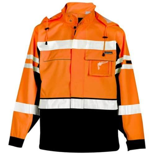 Kishigo Premium Safety Orange Jacket