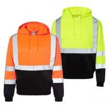 Kishigo Hi-Vis Hooded Safety Sweatshirt