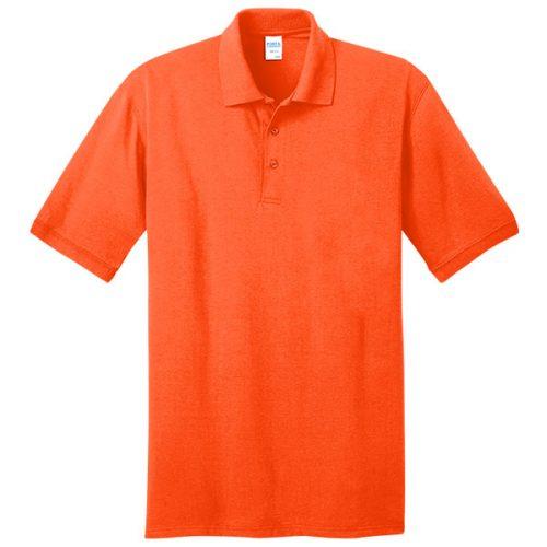 Safety Orange Polo Shirt