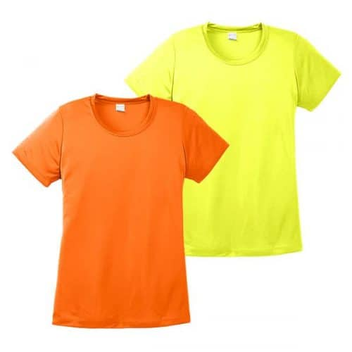 Ladies Dry Fit Safety Shirts