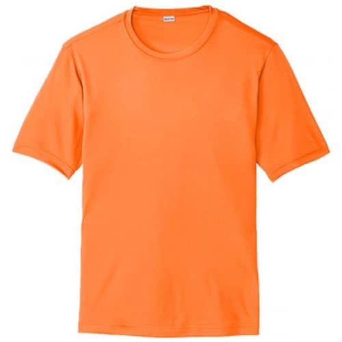 Tall Safety Orange Dry Fit Shirt