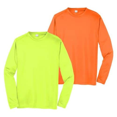 Long Sleeve Dry Fit Safety Shirt