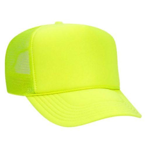 Safety Green Mesh Back Cap
