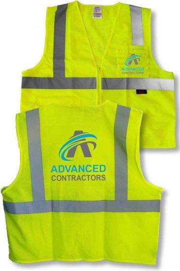 Custom Full Color Safety Vest