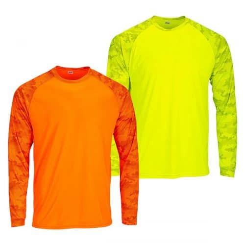Paragon Safety Camo Dry Fit Long Sleeve Shirt