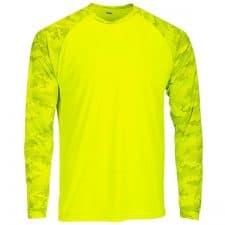 Paragon Camo Long Sleeve Safety Green Shirt