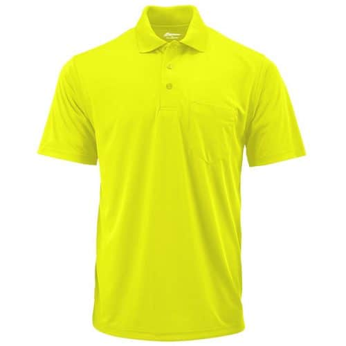 Paragon Dry Fit Safety Green Polo