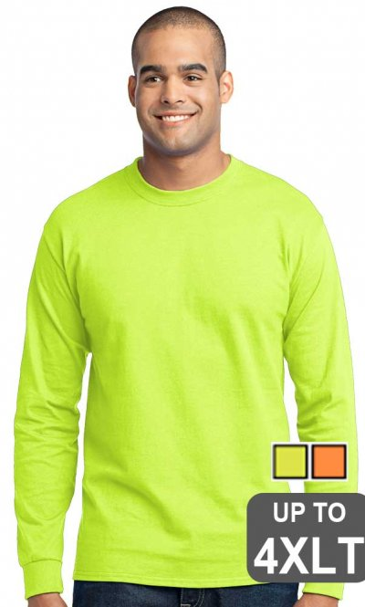 Long Sleeve Tall Safety Shirt