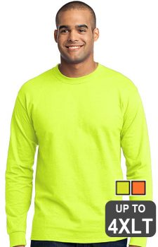 Port & Company Long Sleeve Safety Shirt – Tall
