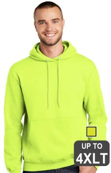 Port & Company Tall Safety Hooded Sweatshirt